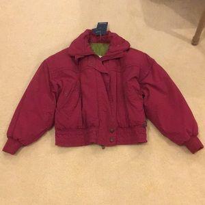 NWT Bogner Burgundy Ski Jacket (US 12)